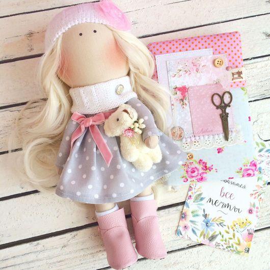 Коллекционные куклы ручной работы. Ярмарка Мастеров - ручная работа. Купить Интерьерная кукла (по мотивам Т. Коннэ). Handmade.