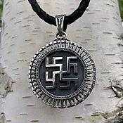 Украшения handmade. Livemaster - original item Pendant / Amulet Fern flower-Tree of Genus from silver 925. Handmade.