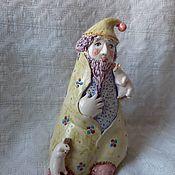 """Колокольчики ручной работы. Ярмарка Мастеров - ручная работа Колокольчик """"Домовой и мышки"""". Handmade."""