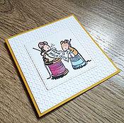 Открытки handmade. Livemaster - original item !The handmade card,happy birthday) stills, Mouse. Handmade.