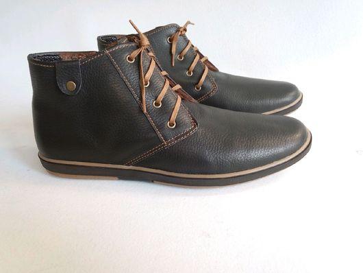 """Обувь ручной работы. Ярмарка Мастеров - ручная работа. Купить Мужские ботинки """"Кеды-Чукка"""". Handmade. Ботинки, ботиночки"""
