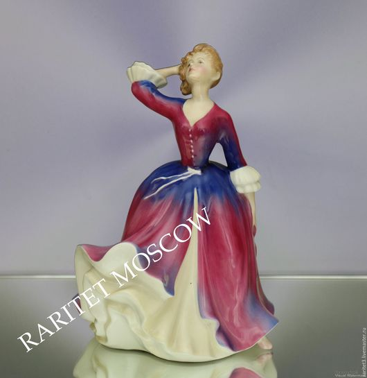 Винтажные предметы интерьера. Ярмарка Мастеров - ручная работа. Купить Девушка MELISSA Royal Doulton Англия 55. Handmade. Раритет