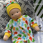 Куклы и игрушки ручной работы. Ярмарка Мастеров - ручная работа Вальдорфская кукла, пупс, ребёнок, младенец Антошка. Handmade.