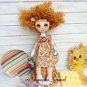 """Куклы и игрушки ручной работы. Ярмарка Мастеров - ручная работа Кукла текстильная интерьерная подарок малышка """"Принцесса Марьяна"""". Handmade."""