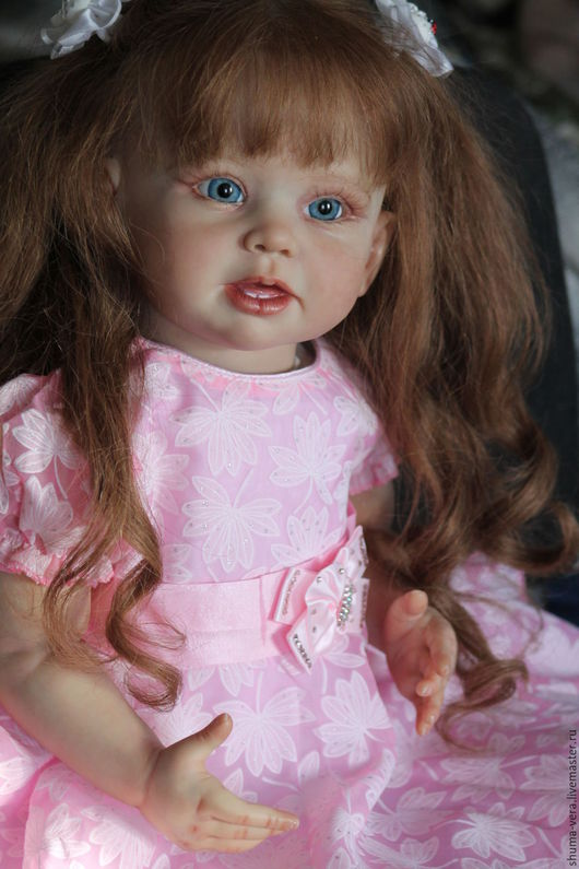 Куклы-младенцы и reborn ручной работы. Ярмарка Мастеров - ручная работа. Купить Кукла реборн Алена из молда Бонни от Линды Мюррей. Handmade.