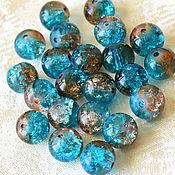 Материалы для творчества handmade. Livemaster - original item Icicle beads, 8 mm, glass, emerald. Handmade.