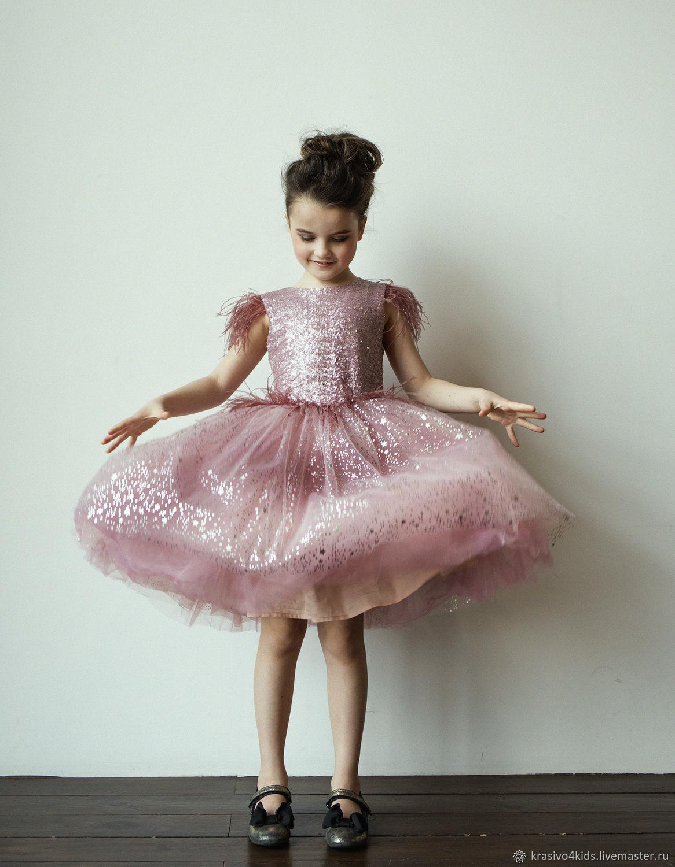 """Нарядное платье """"Pink Glam"""", Платья, Москва,  Фото №1"""