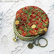 Сумки и аксессуары handmade. Livemaster - original item Purse with clasp Festive new Year. Handmade.