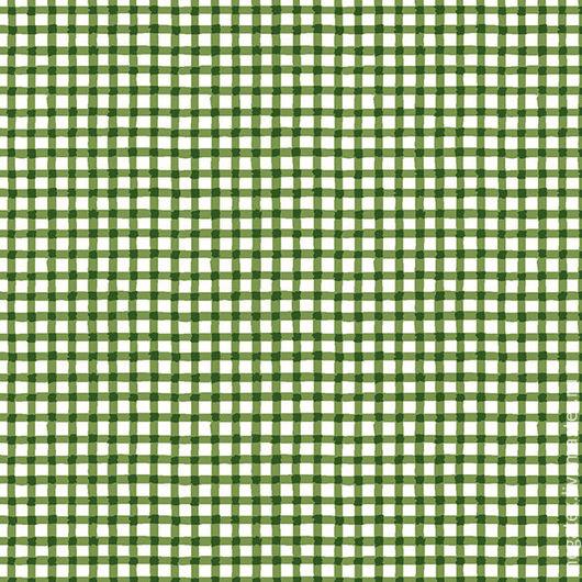 бязь от Трехгорной мануфактуры Клетка-малютка зеленая. Шитье. МегаТекс