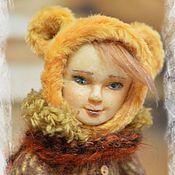 Куклы и игрушки ручной работы. Ярмарка Мастеров - ручная работа Тедди долл Катенька. Handmade.
