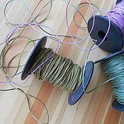 Материалы для творчества ручной работы. Ярмарка Мастеров - ручная работа Шнур вощеный. Handmade.