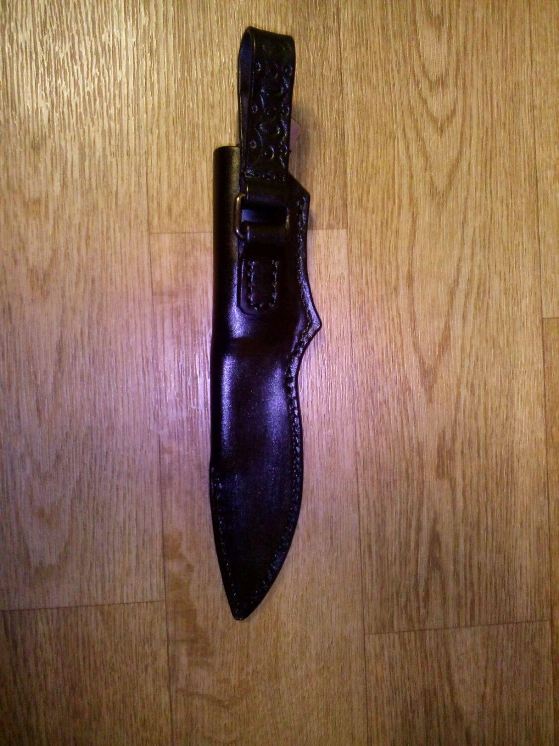 Ножны из кожи для любого ножа из натуральной кожи, Ремни, Сафоново,  Фото №1