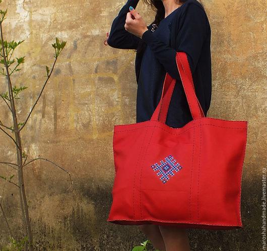 Мароша - Кожаная сумка `Сплетение`