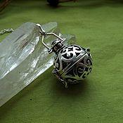 Фен-шуй и эзотерика handmade. Livemaster - original item The necklace is a talisman with a black garnet and hematite. Handmade.
