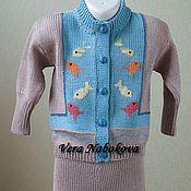 Работы для детей, ручной работы. Ярмарка Мастеров - ручная работа Костюм детский из шерсти Веселый аквариум. Handmade.