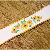 Украшения handmade. Livemaster - original item Bracelet from nettles Sunflower. Handmade.