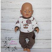 """Одежда для кукол ручной работы. Ярмарка Мастеров - ручная работа Костюм """" Букет от мишки"""" для Беби Бон.. Handmade."""