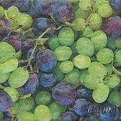 Материалы для творчества handmade. Livemaster - original item 12pcs napkins for decoupage grape print Paradise. Handmade.