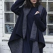 Одежда ручной работы. Ярмарка Мастеров - ручная работа Пальто двухстороннее СOZY IN THE CAGE. Handmade.