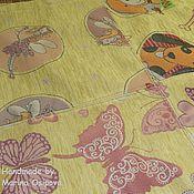 """Для дома и интерьера ручной работы. Ярмарка Мастеров - ручная работа Покрывало """"Kids Yellow"""". Handmade."""