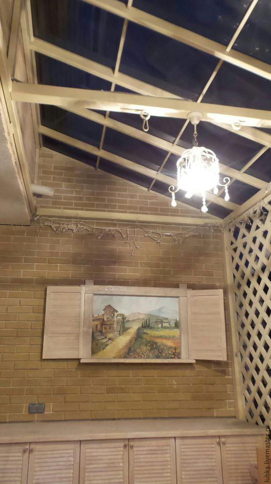 Декор поверхностей ручной работы. Ярмарка Мастеров - ручная работа. Купить Окно в Тоскану. Handmade. Комбинированный, окно италии