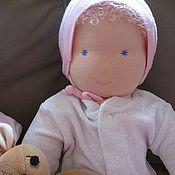 Куклы и игрушки ручной работы. Ярмарка Мастеров - ручная работа Текстильная кукла-младенец. Handmade.