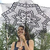 """Аксессуары ручной работы. Ярмарка Мастеров - ручная работа зонт """"Готичный"""". Handmade."""