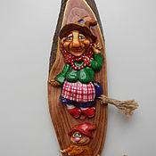 Сувениры и подарки handmade. Livemaster - original item Babuschka.Bas. Handmade.