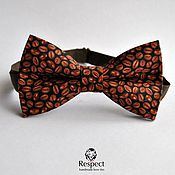 Аксессуары handmade. Livemaster - original item Tie brown Coffee, gift coffee lovers, Moscow. Handmade.
