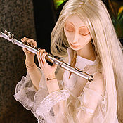 """Куклы и игрушки ручной работы. Ярмарка Мастеров - ручная работа Шарнирная кукла """"Танец белой дриады"""". Handmade."""