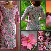 """Одежда ручной работы. Ярмарка Мастеров - ручная работа """" Серо-розовый сон """". Handmade."""