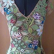 Одежда ручной работы. Ярмарка Мастеров - ручная работа Цветущая поляна. Handmade.