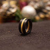 Украшения handmade. Livemaster - original item Ring in ebony and boxwood. Handmade.