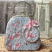 Сумки и аксессуары handmade. Livemaster - original item Beautiful spring handbag and round purse (2). Handmade.