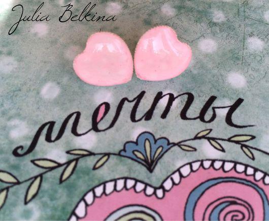 """Серьги ручной работы. Ярмарка Мастеров - ручная работа. Купить Серьги из ювелирной смолы """"милота"""". Handmade. Подарок, подарок подруге"""