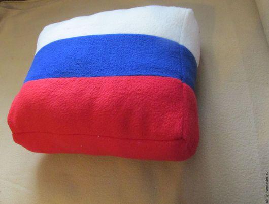 Персональные подарки ручной работы. Ярмарка Мастеров - ручная работа. Купить Подушка флаг. Handmade. Комбинированный, интерьеная подушка, фетр