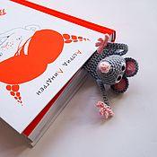 Закладки ручной работы. Ярмарка Мастеров - ручная работа Закладка Крыса Мышка. Смешная закладка для книг. Прикольный подарок. Handmade.