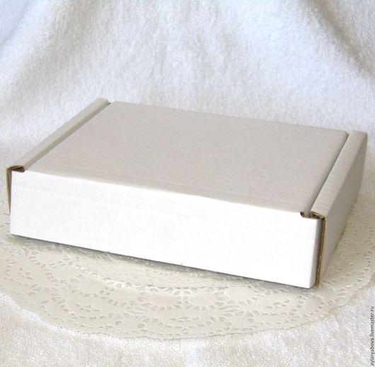 Упаковка ручной работы. Ярмарка Мастеров - ручная работа. Купить Коробочка крафт 170 х 130 х 40 мм. Handmade.