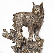 Для дома и интерьера handmade. Livemaster - original item Lynx. Handmade.