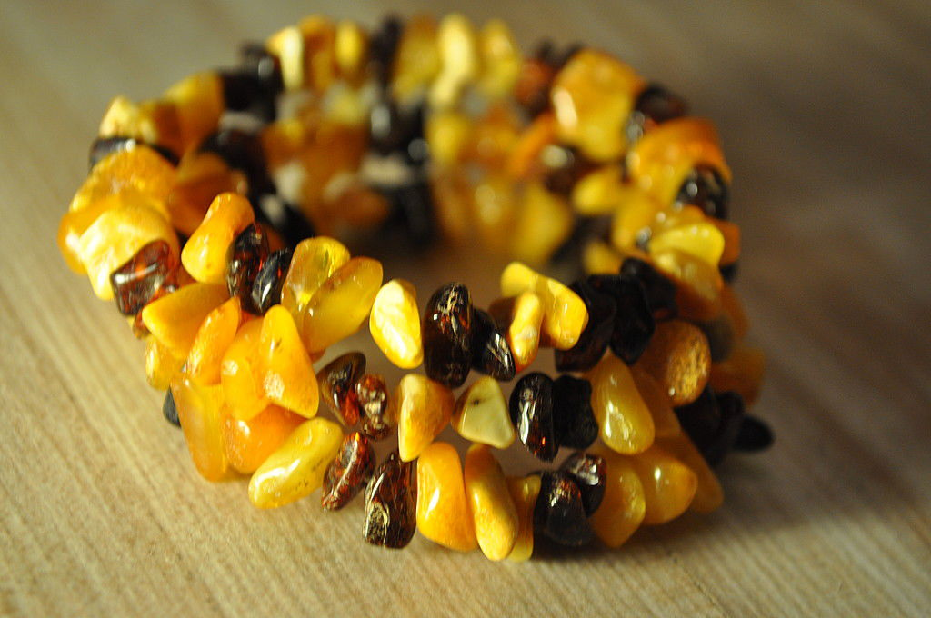 Bracelet made of amber. Baby amber, Bead bracelet, Moscow,  Фото №1