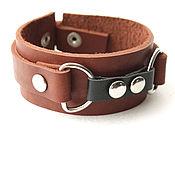 Украшения handmade. Livemaster - original item Leather bracelet. Handmade.