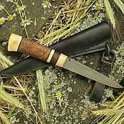 Народные сувениры ручной работы. Ярмарка Мастеров - ручная работа Строгальный нож в древнерусском стиле. Handmade.
