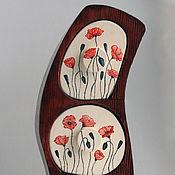 """Для дома и интерьера ручной работы. Ярмарка Мастеров - ручная работа Комодик """"Маки"""". Handmade."""