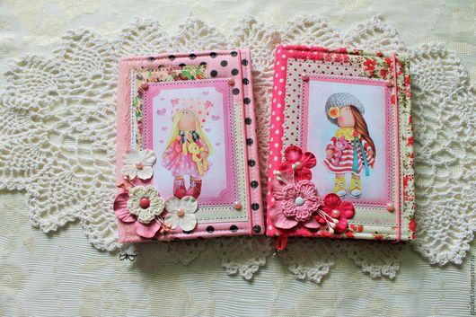 """Блокноты ручной работы. Ярмарка Мастеров - ручная работа. Купить Блокнотики для """"Принцесс"""". Handmade. Комбинированный, для девочки подруги, для принцесс"""