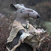 Куклы и игрушки handmade. Livemaster - original item Granny rat. Collectible doll. Handmade.