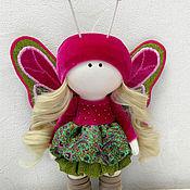Куклы и пупсы ручной работы. Ярмарка Мастеров - ручная работа Кукла - бабочка Камелия. Handmade.