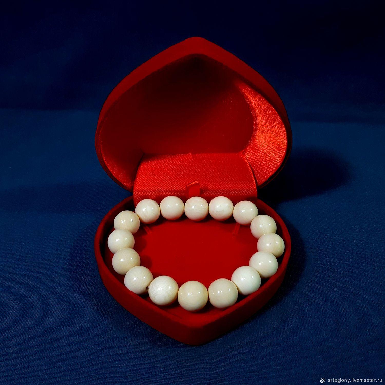 Ivory. A bracelet made of mammoth ivory, Bead bracelet, Ekaterinburg,  Фото №1