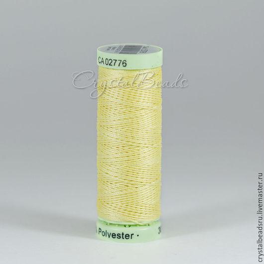 Прочные нитки полиэстр для фриволите и анкарса, нитки Гутераманн, нитки Gutermann.