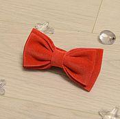 """Галстуки ручной работы. Ярмарка Мастеров - ручная работа Бабочка галстук """"Красный бархат"""". Handmade."""