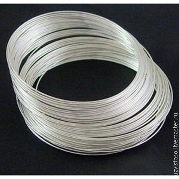 Серебряная проволока 0.4 мм (серебро 925 пробы)